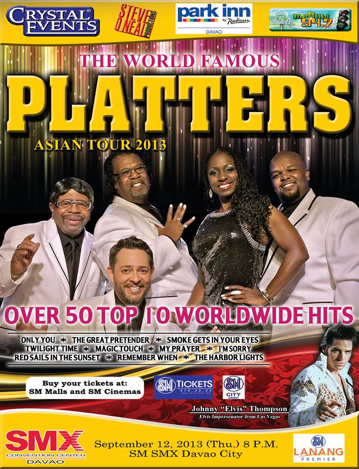 The Platters Show with Elvis Impersonator Johnny Thompson