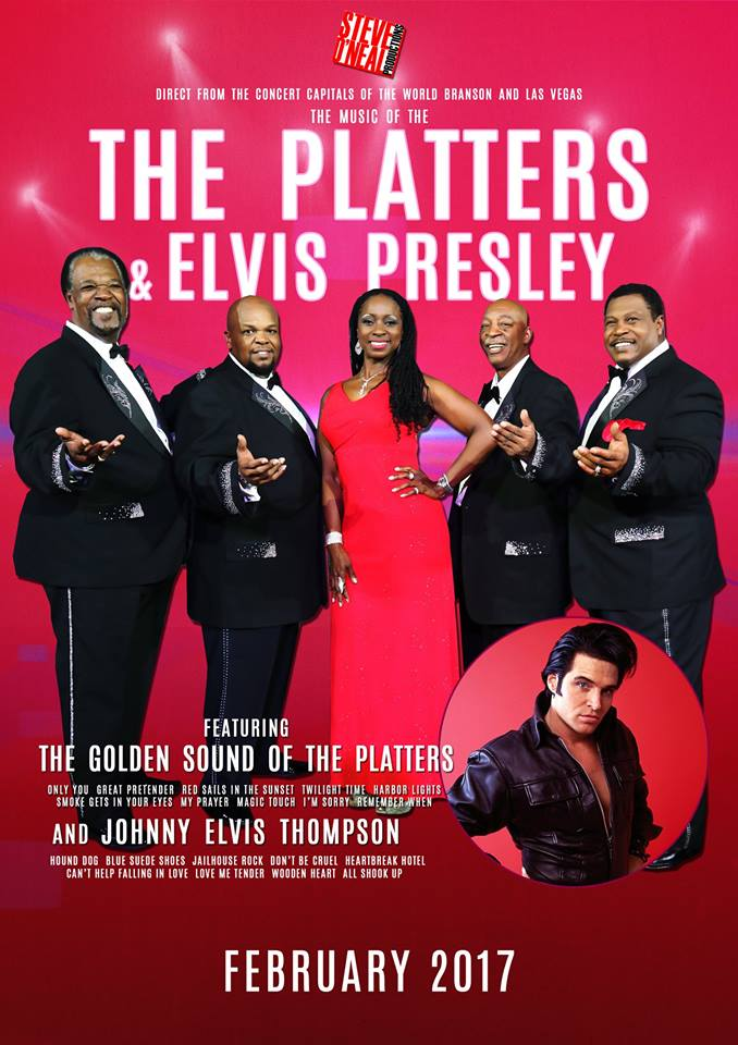 Elvis Tribute Artist and the Platters