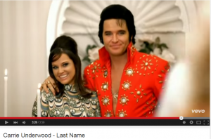 Carrie Underwood Last Name Elvis Impersonator