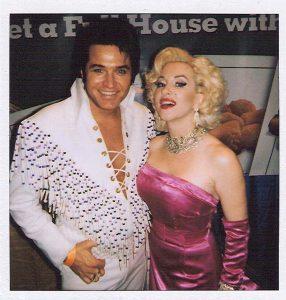 Elvis Tribute Artist and Marilyn Monroe