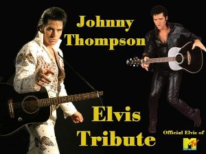 Elvis Tribute Artist Johnny Thompson