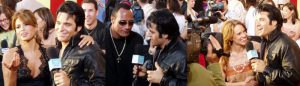 Elvis Tribute Artist at MTV Movie Awards