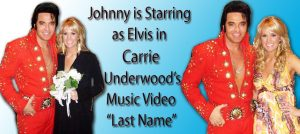 Elvis Impersonator with Carrie Underwood