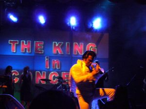 King in Concert Elvis Impersonator Johnny Thompson